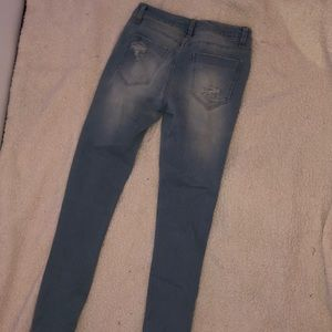 Bluenotes Pants - Bluenotes ripped skinny jeans